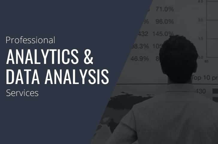 Professional Analytics and Data Analysis Services