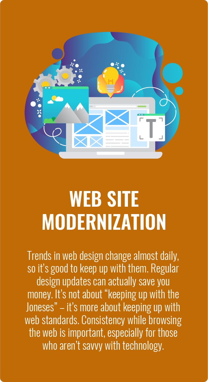 Redesign Modernize Refresh your WordPress Website in Maryland Virginia and Washington DC