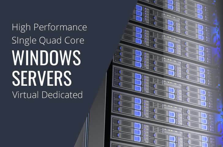 Windows VDS Single Quad Core High Performance Dedicated Servers in Maryland Virginia Washington DC