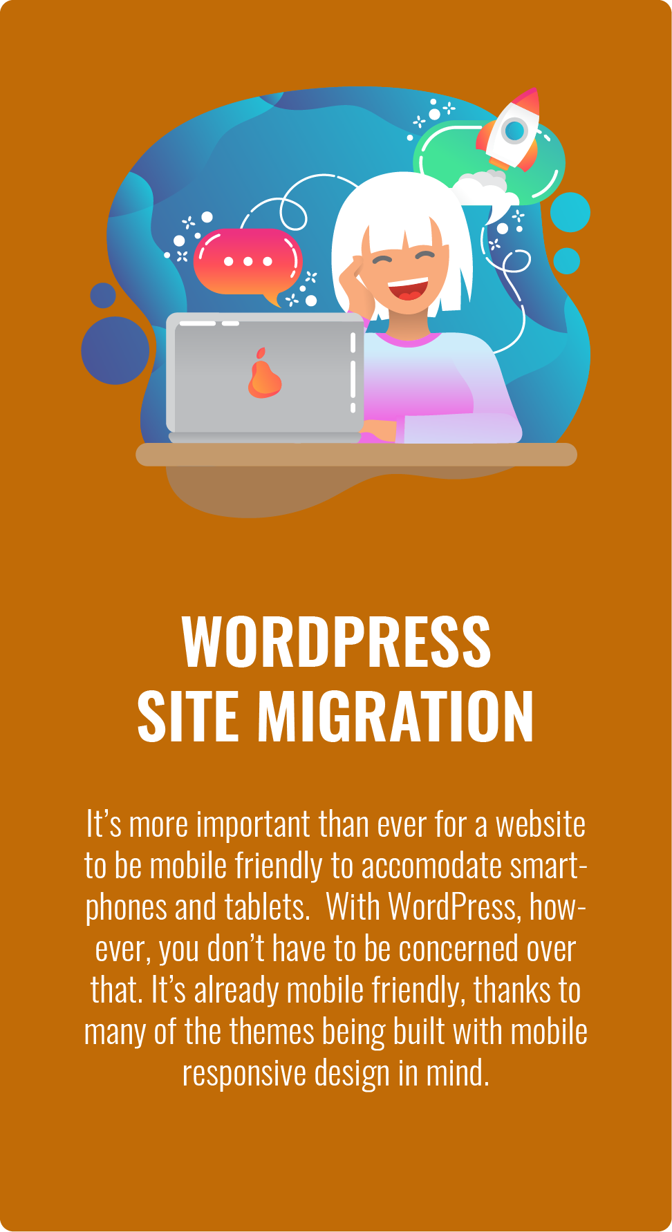 WordPress Web Site Migration Services
