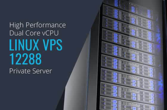 Linux VPS 12288 Dual Core High Performance Private Servers in Maryland Virginia Washington DC