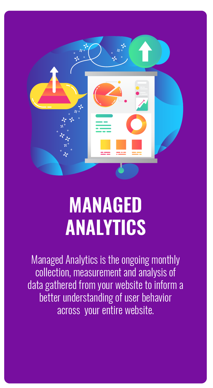 Managed Website Analytics Services in Maryland Virginia and Washington DC