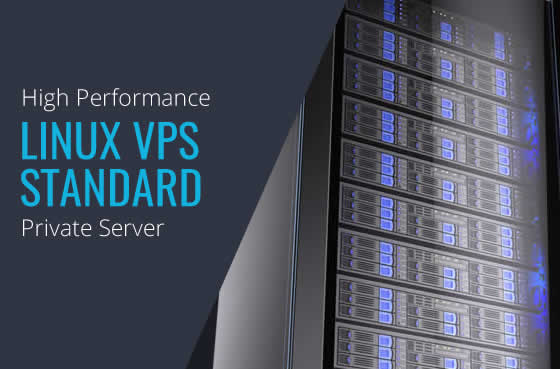 Linux VPS Standard High Performance Virtual Private Servers in Maryland Virginia Washington DC